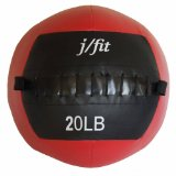 j/fit Medicine Ball Red /Black, MAX